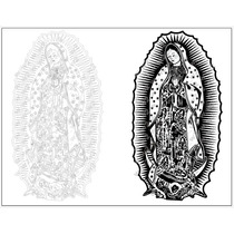 Virgen De Guadalupe Ploter De Corte O Serigrafia