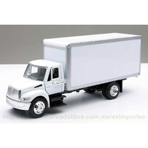 1:43 Camion Reparto Abarrotes International Caja A Escala
