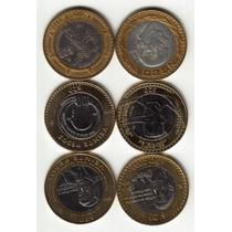 Preciosa Coleccion De Monedas Nuevos Pesos Y 20 Pesos Unicas