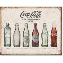 Anuncio Poster De Lamina Metalico Vintage Coca Cola Evo 0015
