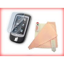 3 Protector De Pantalla Con Paño Para Htc Touch S1 P3450 Dm0