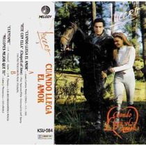 Lucero Cuando Llega El Amor Cassette Single Original 1990