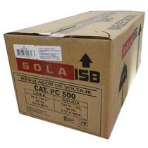Regulador Sola Basic Pc-500,500va/500w,ferroresonante,4 Cont