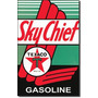 Poster Metalico Lamina Cartel Afiche  Texaco Sky Chief Aceit