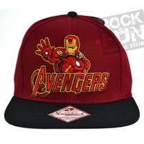 Iron Man Avengers Marvel Comics Gorra Importada