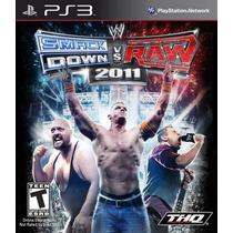 Ps3 Smackdown Vs. Raw 2011 Nuevo Envio Gratis
