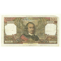 Billete Francia 100 Francos (1974) Pierre Corneille