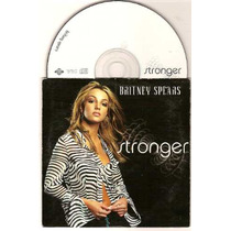 Britney Spears Stronger Single Francia 2 T Cartoncito