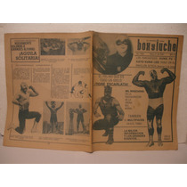 Revista Box Y Lucha De Los 80