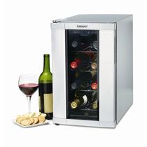 Enfriador 8 Botellas De Vino Cuisinart Cwc800 Cava Vinos Pm0