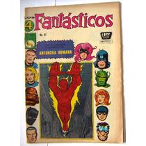Historieta, Los 4 Fantasticos N°81, Editorial La Prensa Css