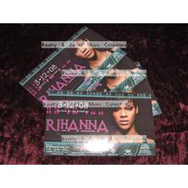 Rihanna 4 Stickers Palacio De Los Deportes De Coleccion!!