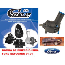 Bomba Direccion / Licuadora, Ford Explorer 1991-2001