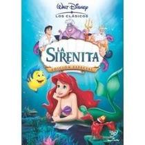 Princesas Disney En Dvd Originales Sirenita, Bella Y Bestia
