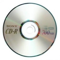 100 Pzas.disco Cd Sony Virgen 48x 700mb 80m..