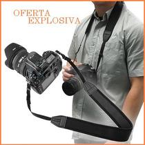 Nueva Correa De Cuello P/ Video Camaras Profecionales Nikon