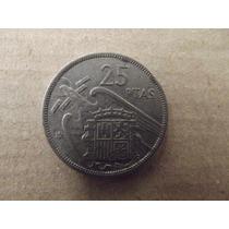 Moneda España 1957 25 Pesetas Mn4