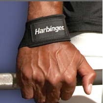 Harbinger Gym 2 Cintas Amarre Straps Lifting Barra Pesas Vbf