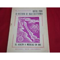 Francisco Dueñas, Datos Para La Historia De Baja California