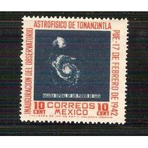1942 Mèxico Astrofìsico De Tonanzintla 10c. Sello Nuevo