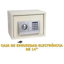 Caja Fuerte Electrónica, De Acero (grande)envió Gratis, Op4,