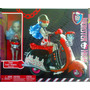 Monster High Gran Set De Ghoulia Con Moto