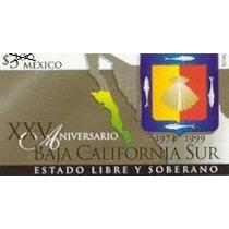 1999 Xxv Aniversario Del Estado De Baja California Sur Mint