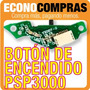 Botón De Encendido Para Psp Sony Serie 3000 100% Nuevo!!!!!!