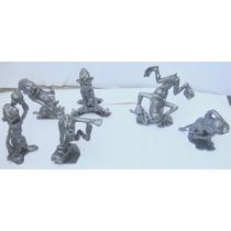 Marx Plastimarx Colección De 6 Figuras Nutty Mads Serie1 Vbf