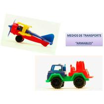 Juguete Miniatura Para Maquina Chiclera Medios De Transporte