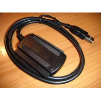 Cable Adaptador De Disco Duro 3 En 1 Usb 2.0 Sata - Ide Hd