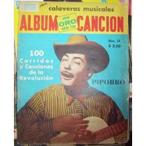 Album Cancionero,piporro En Portada 1948 #34
