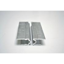 Perfil De Aluminio Hembra-macho Para Fabricar Estuches Cases