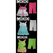 Lote Nina Bebe 6 Piezas 18 Meses Xoxo 3 Conjuntos Leggings