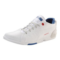 Tenis Puma Ducati Xelerate Choclo Piel Blanco Adulto Low Pm0
