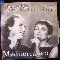 Cd Sencillo, Ana Belén, Joan Manuel Serrat, Hwo