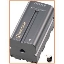 Bateria Recargable Np-f730h Sony Hvl-ml20 Plm-a55 Plm-a35