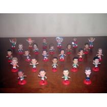 Set De 26 Microstars Cabezones Coca-cola De Futbol Mundial