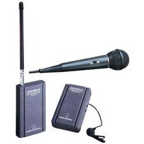 Micrófono Inalambrico Receptor Transmisor Audio Technica Mn4