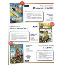 Libros De Dinosaurios,duendes,hadas,magos,princesas,piratas