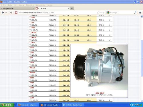 Mercedes benz compresor de aire acondicionado 5900 aip3i - Compresor de aire precios ...