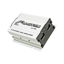 Amplificador Mini Blanco 2 Canales 500 Watts Pmpo
