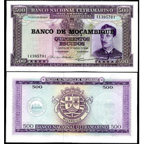 Billete Mozambique 500 Escudos (1967) Caldas
