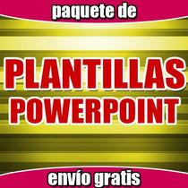Enorme Paquete Plantillas Powerpoint Listas Para Usarse