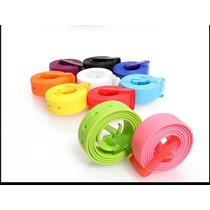 Lote 10 Cinturones De Silicone Ancho 3.3 Cm