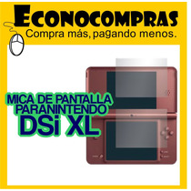 Mica Protectora De Pantalla Para Nintendo Ds Xl 100% Nuevo