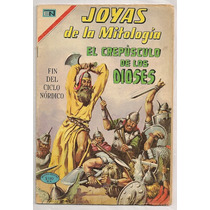 Comic Joyas De La Mitología Muerte Thor Odín Novaro 1970 Hlw