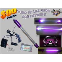 Oferta Tubo De Luz Neon De 10 Pulg. Con Estrobo Y Control