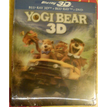 El Oso Yogi ( Bluray 3d + Bluray + Dvd ) Nuevo Cerrado