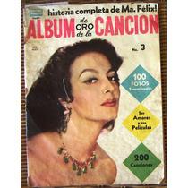 Revista Album De Oro De La Canción, Maria Felix, Hwo